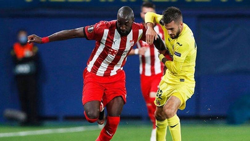 Sivasspor Villareal maçı hangi kanalda canlı yayınlanıyor? Sivas maçı şifresiz mi? Maç kaç kaç, skor ne?