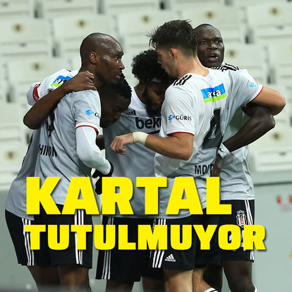 Beşiktaş doludizgin