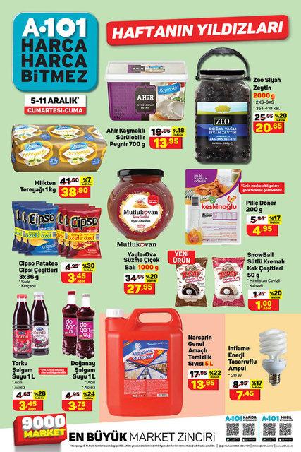 A101 5-11 Aralık aktüel ürünler kataloğu: A101 bu hafta indirimli ürünler listesinde neler var?