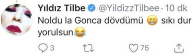 SON DAKİKA | Yıldız Tilbe'den Hakan Altun'a: Ne oldu, Gonca dövdü mü? -