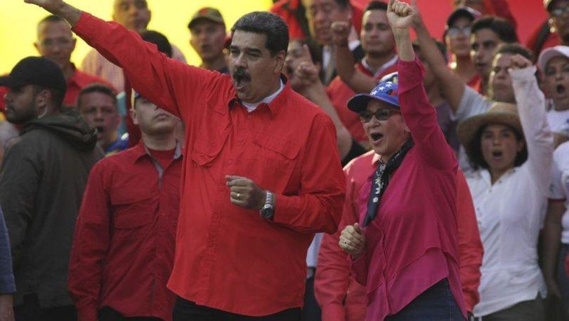Maduro: ABD eşime benden boşanması için teklif yaptı