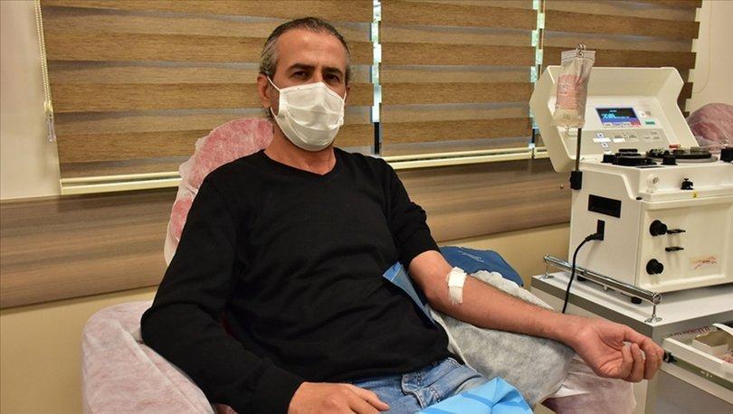 Covid-19'u yenen doktor immün plazma bağışıyla hastalara umut oluyor