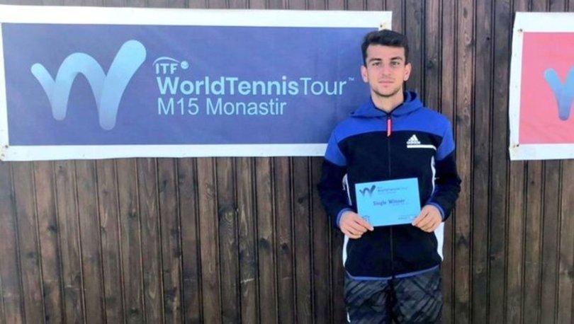 Milli tenisçi Ergi Kırkın, Tunus'ta ikinci kez şampiyon