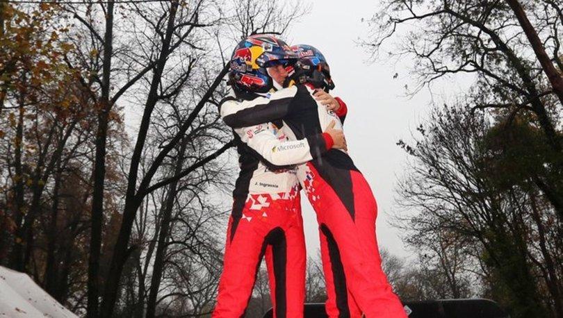Sebastien Ogier, WRC'de 7. kez şampiyon oldu
