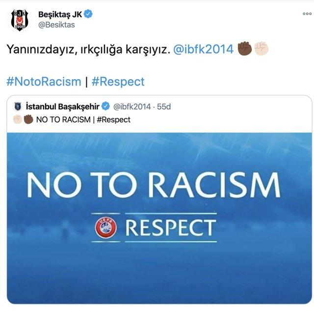 Son dakika: Irkçı hakeme spor dünyasından ortak tepki - Haberler