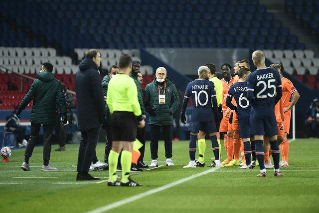 PSG - Başakşehir maçından görüntüler