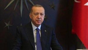SON DAKİKA: Cumhurbaşkanı Erdoğan'dan Başakşehir'e destek mesajı