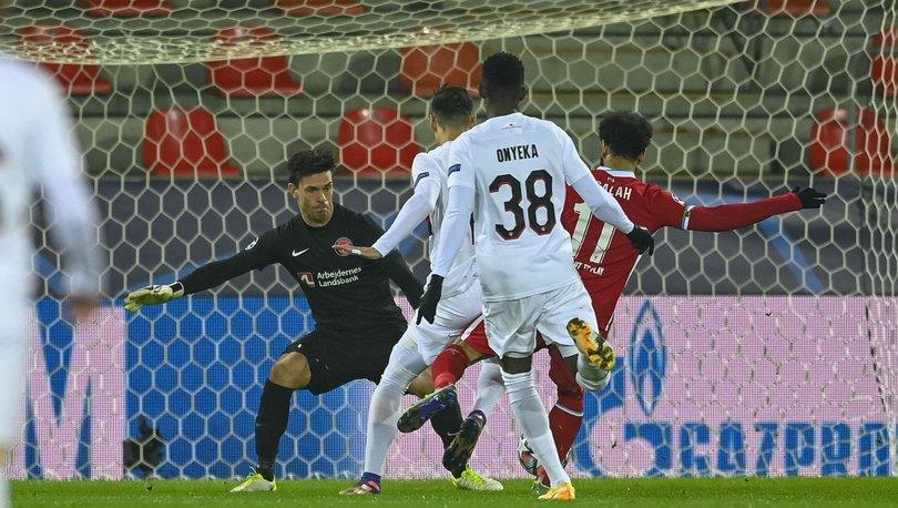 Liverpool Midtjylland maç sonucu! Salah kulüp rekorunu kırdı!