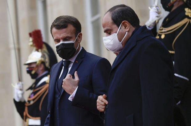 Macron'dan Sisi'ye 'gizli' madalya!