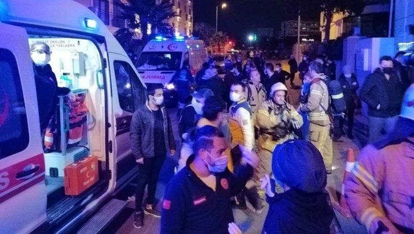 SON DAKİKA: Tuzla'da sitede yangın paniği: 8 kişi hastaneye kaldırıldı