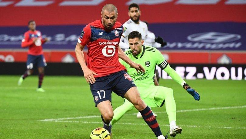 Lille maç fazlasıyla liderliğe yükseldi