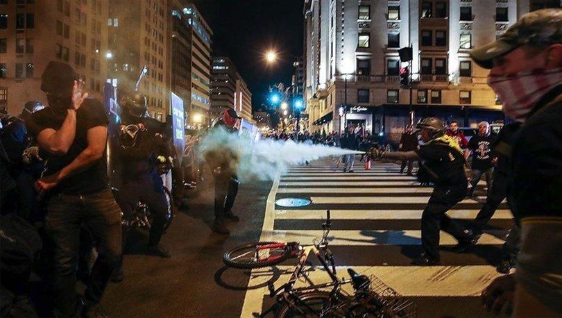 Washington'da karşıt gruplar birbirine girdi - Haberler