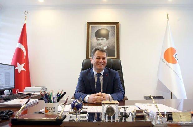 ÖSYM Başkanı Aygün, 2021deki sınavlar için yeni hedefleri açıkladı