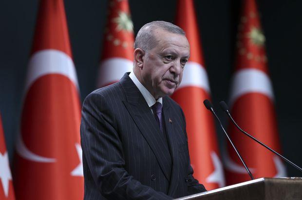 Cumhurbaşkanı Erdoğan'dan bir dizi müjde