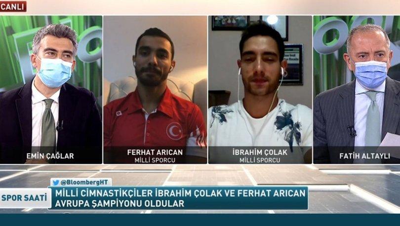 İbrahim Çolak ve Ferhat Arıcan, Spor Saati'ne konuk oldu