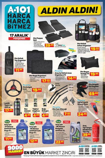 A101 BİM aktüel ürünler kataloğu! 17-18 Aralık A101 BİM aktüel ürünler kataloğu! İşte tam liste
