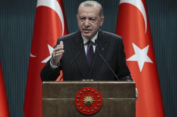 Cumhurbaşkanı Erdoğan'dan ABD'ye yaptırım tepkisi!