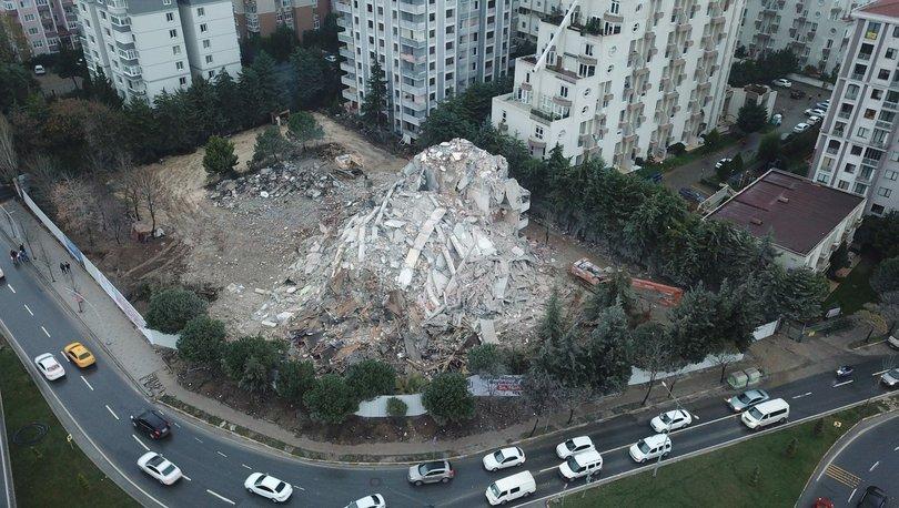 Son dakika haberi: Yıkımı yapılan binada korkutan olay! - Haberler