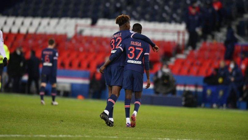 PSG: 2 - Lorient: 0 MAÇ SONUCU