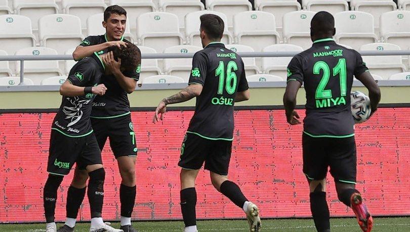 Konyaspor: 3 - Altınordu: 1 | MAÇ SONUCU