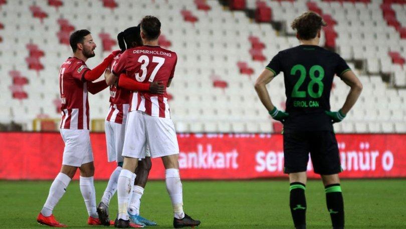 Demir Grup Sivasspor: 1 - Giresunspor: 0