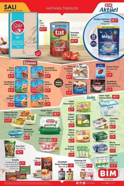 Bu hafta BİM indirimli ürünler listesinde neler var? BİM 18 Aralık 2020 aktüel ürünler kataloğu