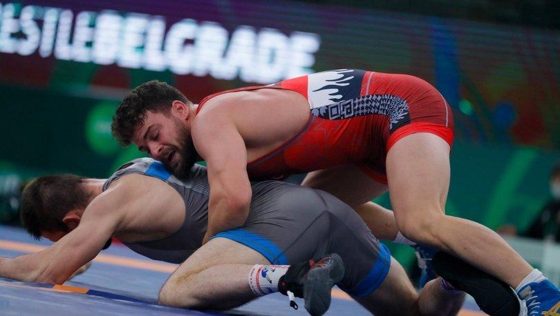 Milli güreşçi Osman Göçen, Dünya Kupası'nda bronz madalyanın sahibi oldu