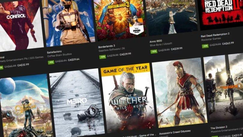 Epic Games ücretsiz oyunları neler?