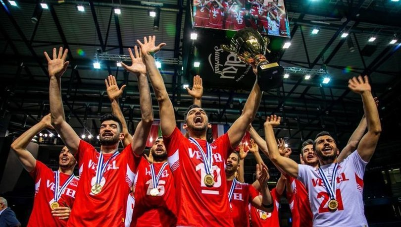 A Milli Erkek Voleybol Takımı'nın, Avrupa Altın Ligi'ndeki rakipleri belli oldu