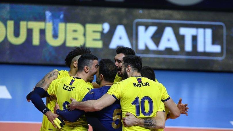 Fenerbahçe HDI Sigorta: 3 - Halkbank: 0 | MAÇ SONUCU