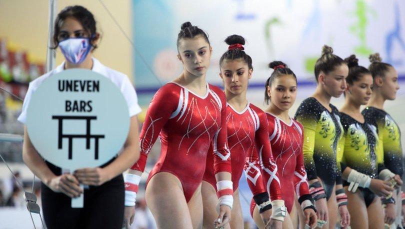 Avrupa Kadınlar Artistik Cimnastik Şampiyonası'nda takım şampiyonu Ukrayna oldu