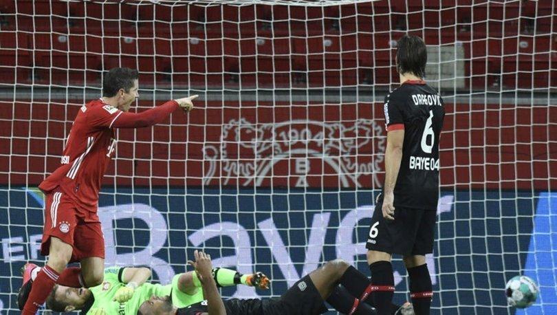 Bayern Münih, deplasmanda Bayer Leverkusen'i 2-1 yenerek yeniden liderliğe yükseldi