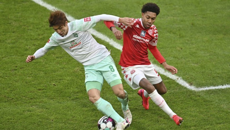 Mainz: 0 - Werder Bremen: 1 MAÇ SONUCU