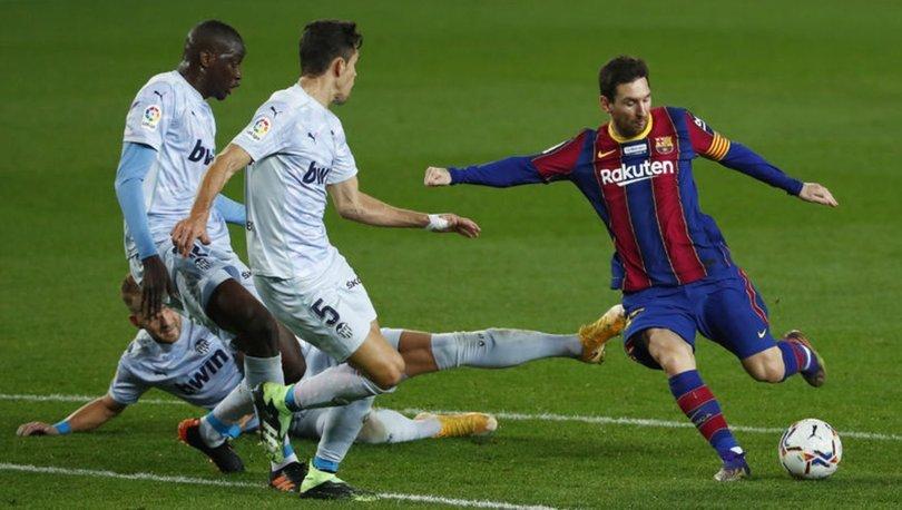 Barcelona: 2 - Valencia: 2 MAÇ SONUCU
