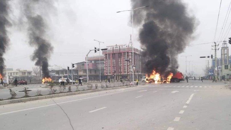 SON DAKİKA: Afganistan'ın başkenti Kabil'de patlama: 8 ölü, 15 yaralı!
