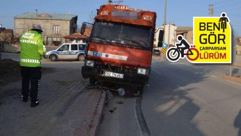 BİSİKLET FACİASI: Son dakika: Kamyon ezmişti! Bisiklet sürücüsü öldü