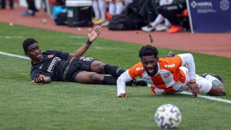 Ümraniyespor: 1 - Adanaspor: 0