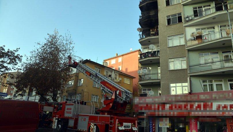 Son dakika haberi: 9 katlı binada yangın paniği! - Haberler