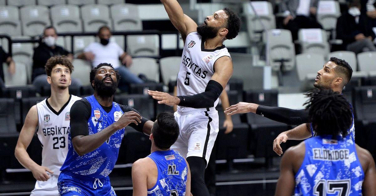 Beşiktaş: 84 - Büyükçekmece Basketbol: 77