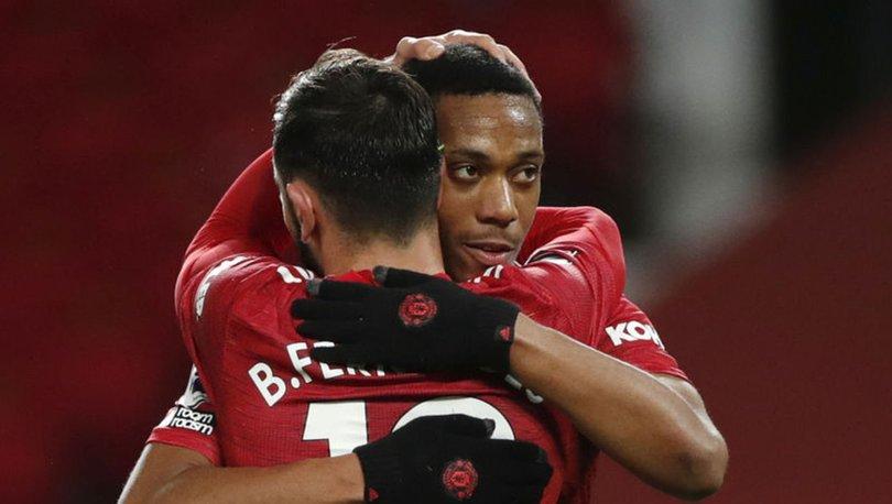 Premier Lig'de Manchester United, Leeds United'ı 6 golle geçti
