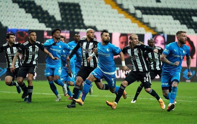 Spor yazarlarından Beşiktaş - Erzurumspor maçı yorumu