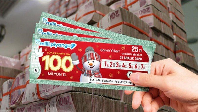 Milli Piyango 2020 yılbaşı bilet fiyatları ne kadar? Yılbaşı Çeyrek, Yarım ve Tam bilet fiyatları