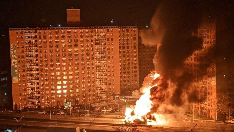 Son dakika haberi: New York'ta feci yangın! - Haberler