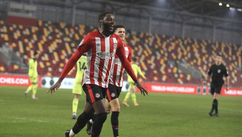 Brentford, Newcastle United'ı eleyerek Lig Kupası'nda yarı finale kaldı