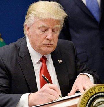 ABD Başkanı Donald Trump, Rusya soruşturması kapsamında suçlu bulunan George Papadopoulos ve Alex van der Zwaan