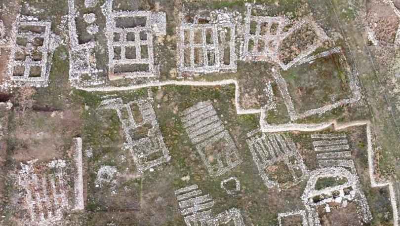 12 bin yıllık tarih havadan görüntülendi