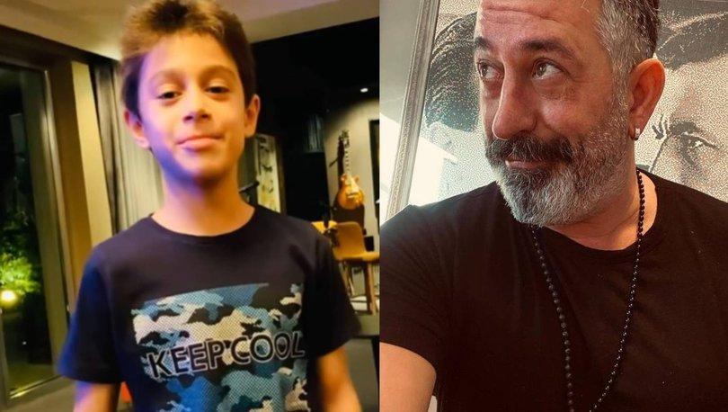 Cem Yılmaz ve oğlu Kemal'den eğlenceli paylaşım - Magazin haberleri