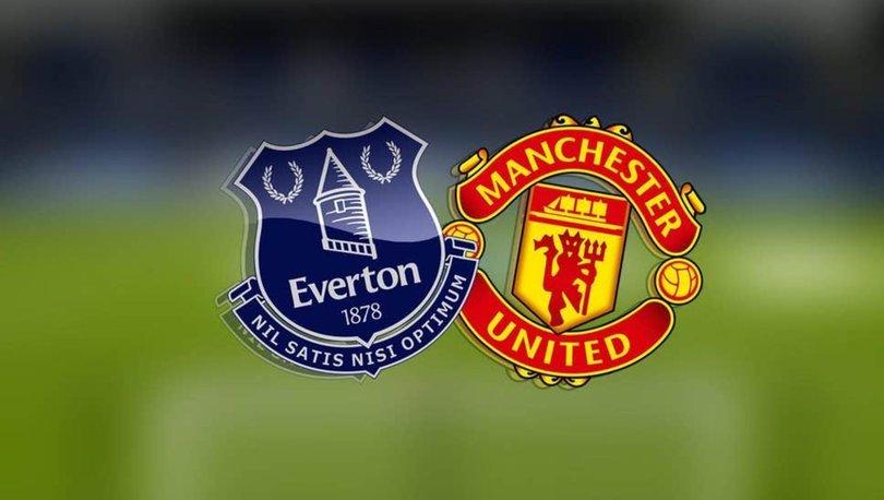 Everton Manchester United maçı ne zaman, saat kaçta, hangi kanalda? Muhtemel 11'ler