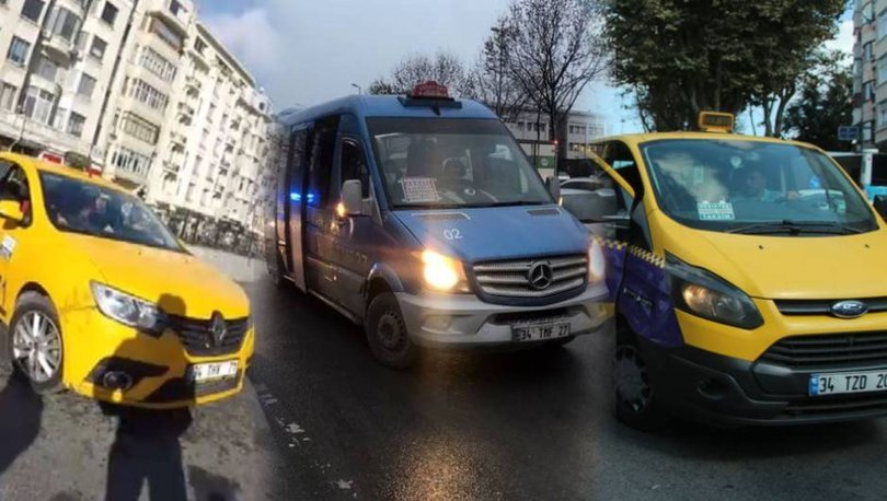 SON DAKİKA HABERİ: İstanbul'da taksi, minibüs ve dolmuşa zam