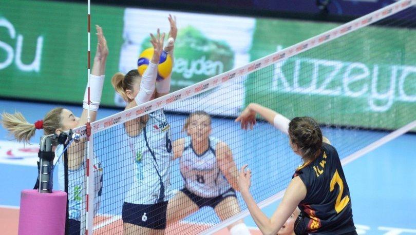 Galatasaray HDI Sigorta: 1 - Sarıyer Belediyespor: 3